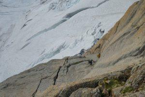 via bonatti con Guide alpine
