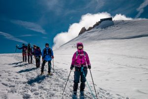 Capanna Margherita con Guide Alpine