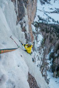 arrampicata ghiaccio dolomiti