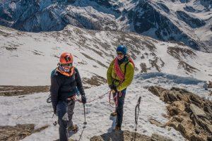 goulotte con guida alpina